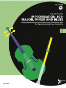 Improvisation 101: Major, Minor and Blues - C Instruments (book/CD)