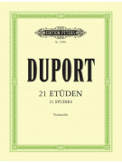 J.L. Duport - 21 Etuden (Violoncello)