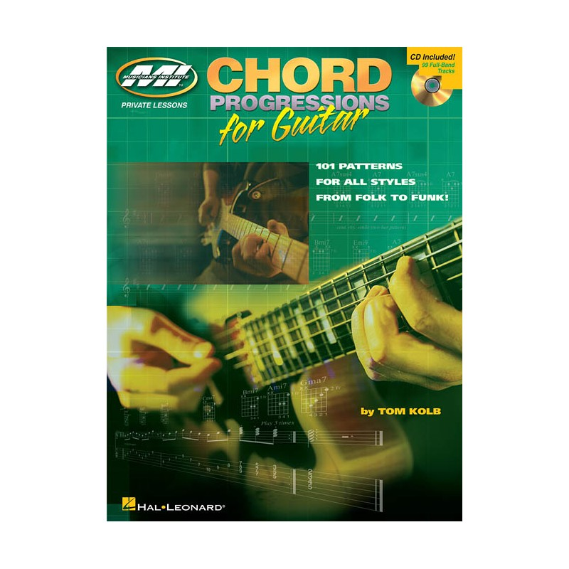 Tom Kolb Chord Progressions For Guitar Birdlandjazz