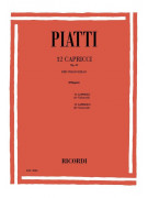 12 Capricci Op. 25 - Per Violoncello