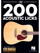 200 Acoustic Licks - Guitar Licks Goldmine (DVD)