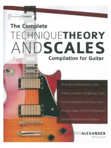 The Complete Technique Theory and Scales Compilation for Guitar
