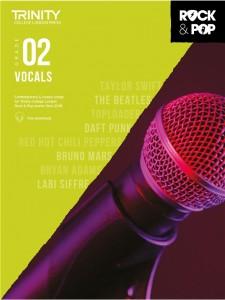 Rock & Pop Exams: Vocals Grade 2 from 2018 (book/download)