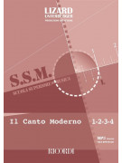 Il canto moderno 1-2-3-4 (book/Audio download)