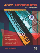 Jazz Inventions for Keyboard (book/CD)