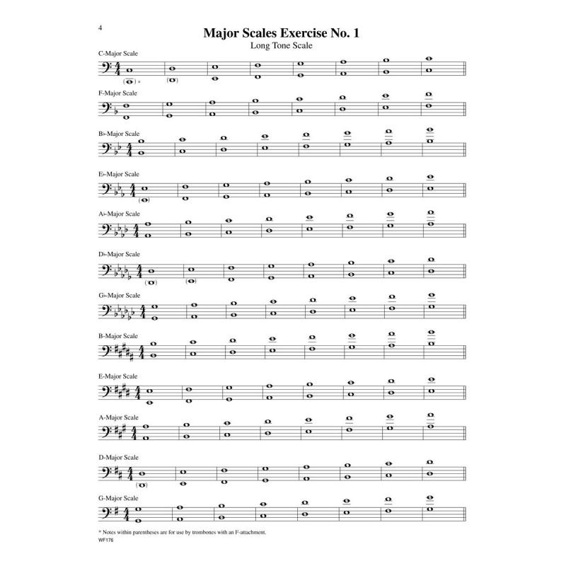 Complete Scale Compendium for Trombone