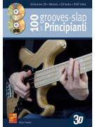 100 grooves in slap per principianti in 3D (libro/CD/DVD)