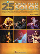 25 Great Flute Solos (book/Audio Online)