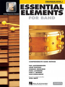 Essential Elements 2000: Percussion Book 1 (book/CD/DVD)