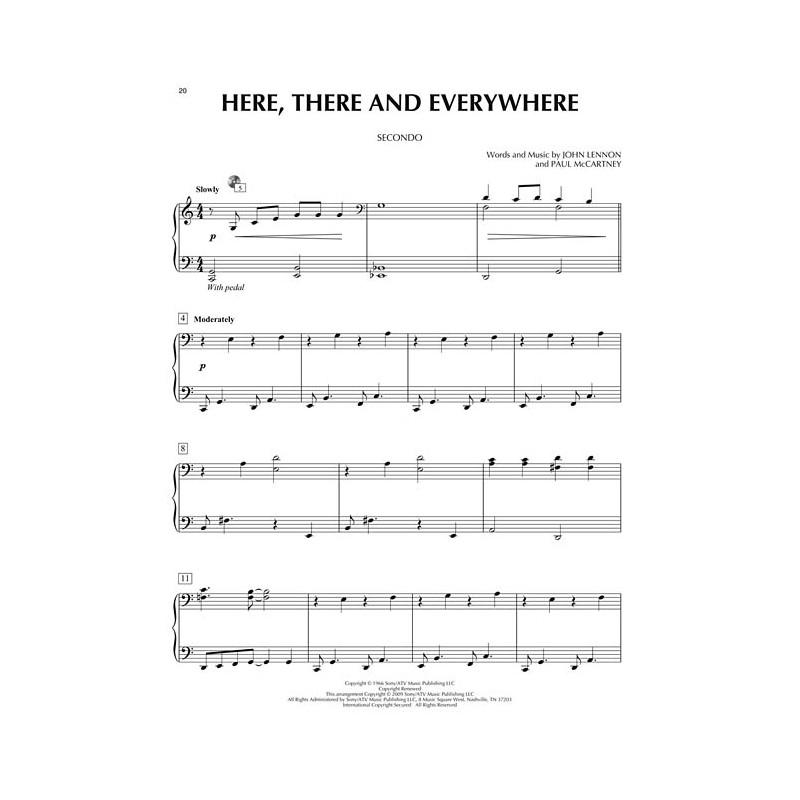 Love Songs Piano Duet www birdlandjazz it