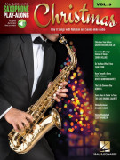Christmas: Saxophone Play-Along Volume 9 (book/Audio Online)