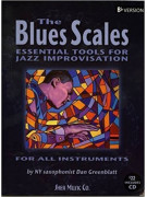 The Blues Scales - Eb or Bb Version (book/CD)
