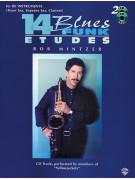 14 Blues & Funk Etudes - Saxophone (book/2 CD play-along)
