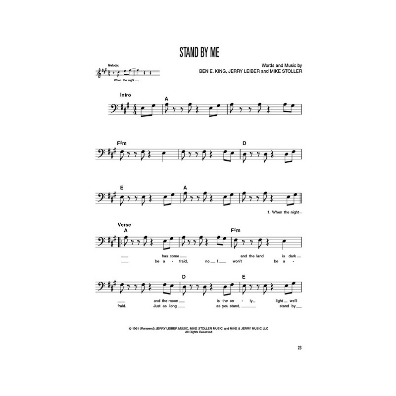 Supplemental Songbook to Book 1 of the Hal Leonard Bass Method