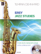 Easy Jazz Studies Alto Sax (book/CD)