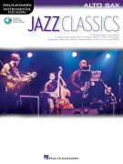 Jazz Classics - Instrumental Play-Along for Alto Sax (Book/Audio Online)