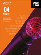 Rock & Pop Exams: Vocals Grade 4 from 2018 (book/download)