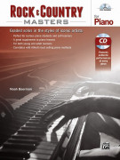 Rock & Country Masters for Piano (book/CD)