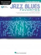 Jazz Blues Favorites: Trombone (book/Audio Online)