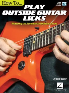 How to Play Outside Guitar Licks (book/Video Online)