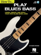 How to Play Blues Bass (book/Audio Online)