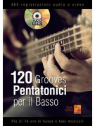 120 Grooves Pentatonici Per Il Basso (libro/Audio Video)
