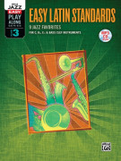 Easy Jazz Play-Along Vol.3: Easy Latin Standards Rhythm Section (book/CD MP3)