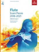 ABRSM Flute - Exam Pieces 2018-2021 Grade 4
