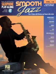 Smooth Jazz: Saxophone Play-Along Volume 12 (book/Audio Online)