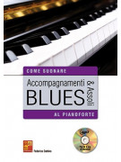 Accompagnamenti & assoli blues al pianoforte (libro/CD MP3)