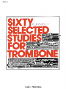 Sixty Selected Studies for Trombone - Book 2