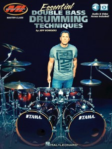 Essential Double Bass Drumming Techniques (book/Audio & Video Online)