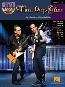 Three Days Grace: Guitar Play-Along Volume 170 (book/CD)