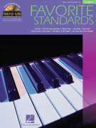 Piano Play-along Favorite Standards Vol. 15 (book/CD)