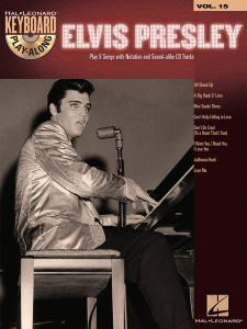 Keyboard Play-Along Volume 15: Elvis Presley (book/CD)