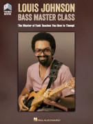 Louis Johnson – Bass Master Class (book/Video Online)
