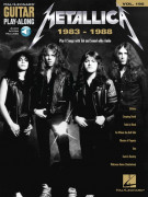 Metallica: 1983-1988: Guitar Play-Along Volume 195 (book/Audio Online)