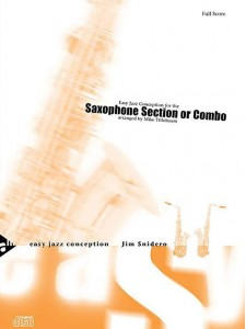 Easy Jazz Conception for the Saxophone Section (book/CD)