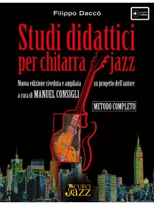 Studi didattici per chitarra jazz (libro/DVD Rom)