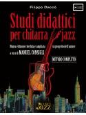 Studi didattici per chitarra jazz (libro/Audio Online)