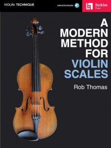 A Modern Method for Violin Scales (book/Audio Online)