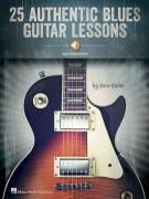 25 Authentic Blues Guitar Lessons (book/Audio Online)