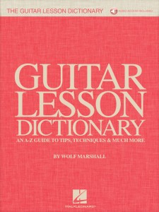 The Guitar Lesson Dictionary (book/Audio Online)