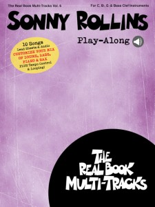 Sonny Rollins Play-Along (book/ Media Online)
