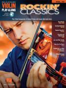 Rockin' Classics: Violin Play-Along Volume 53 (Book/Audio Online)