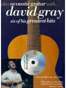Play Acoustic Guitar With... David Gray (book/CD)