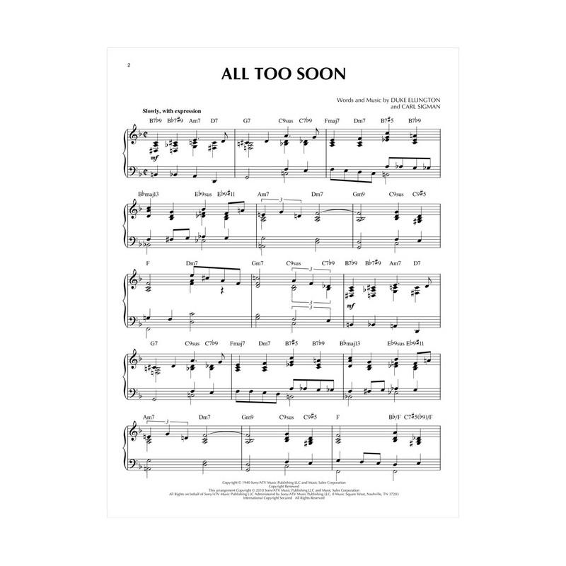 All That Jazz Sheet Music Piano: Jazz Piano Solos, A Night In Tunisia Sheet Music