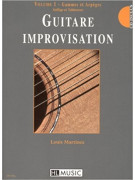 Guitare improvisation Vol.1 (book/CD)