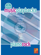 Music Playbacks - Piano rock (booklet/CD)