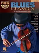 Blues Classics: Violin Play-along Volume 14 (book/CD)